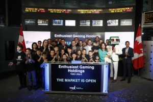 Enthusiast Gaming Opens the Market on the Opening Day of EGLX