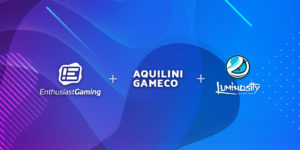 Enthusiast Gaming Announces Merger with Aquilini Gameco and Luminosity to Form Global Esports and Gaming Leader