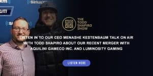 Listen In On Menashe's Interview with Todd Shapiro