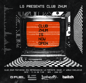 Enthusiast Gaming Presents a World Exclusive Featuring GRAMMY® Nominated Artist and Newest Luminosity Content Creator ZHU, and Twitch Streamer of the Year MrFreshAsian
